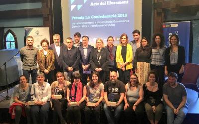 La Plataforma Social Salesiana – La Mina premiada per les millors pràctiques de transformació social