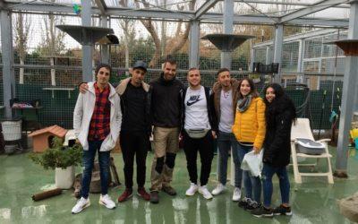 La Plataforma Social dels Salesians a Mataró realitza un projecte d'APS amb la protectora d'animals