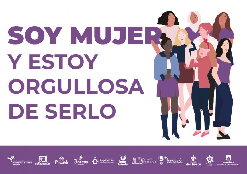 Manifiesto: Día Internacional de la Mujer en las Plataformes Socials Salesianes