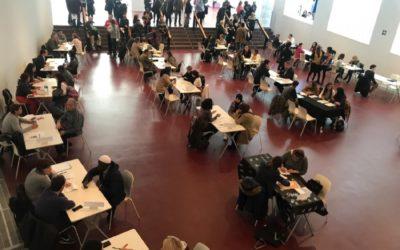 """Més de 200 persones en situació de vulnerabilitat social participen en l'""""speed dating"""" laboral a Mataró"""