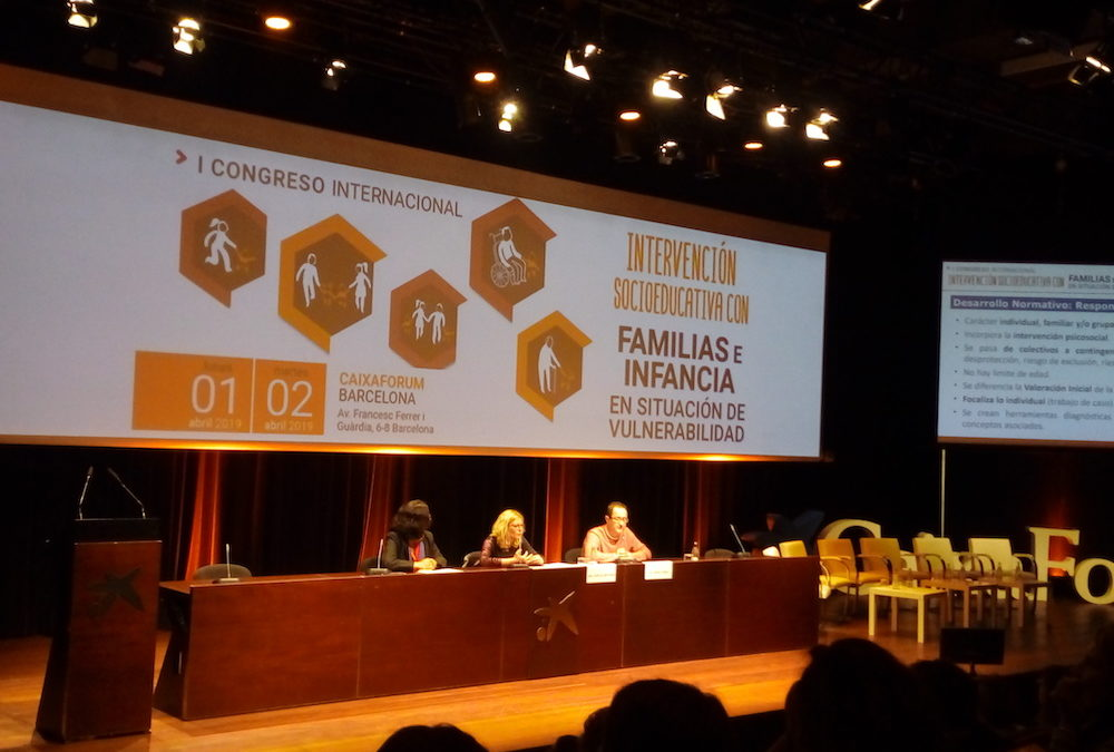 I Congrés Internacional sobre intervenció socioeducativa amb famílies i infància en situació de vulnerabilitat