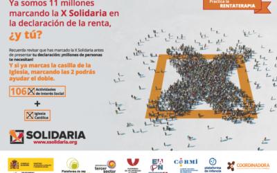 Les Plataformes Socials Salesianes i els Centres Juvenils animen a marcar la X Solidària