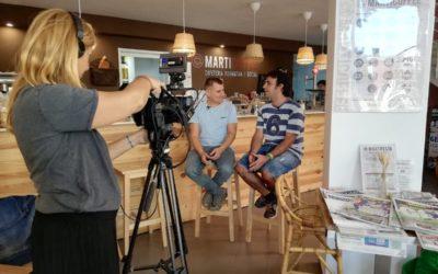 Vídeo: Marticoffee, la cafeteria social i formativa, al programa La Família Barris de betevé