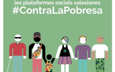 Les Plataformes Socials Salesianes #ContraLaPobresa exigeixen situar les persones al centre de les agendes polítiques per reduir la pobresa i les desigualtats