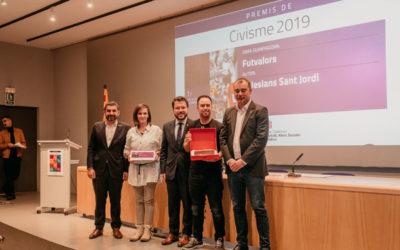El proyecto «Futvalors» gana el 1er premio de Civismo y Deporte de la Generalitat de Cataluña